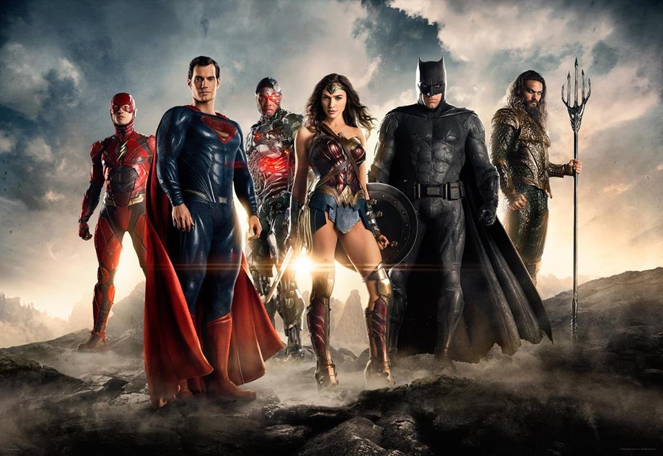 Justice League İlk Görsel ve Fragman Yayınlandı