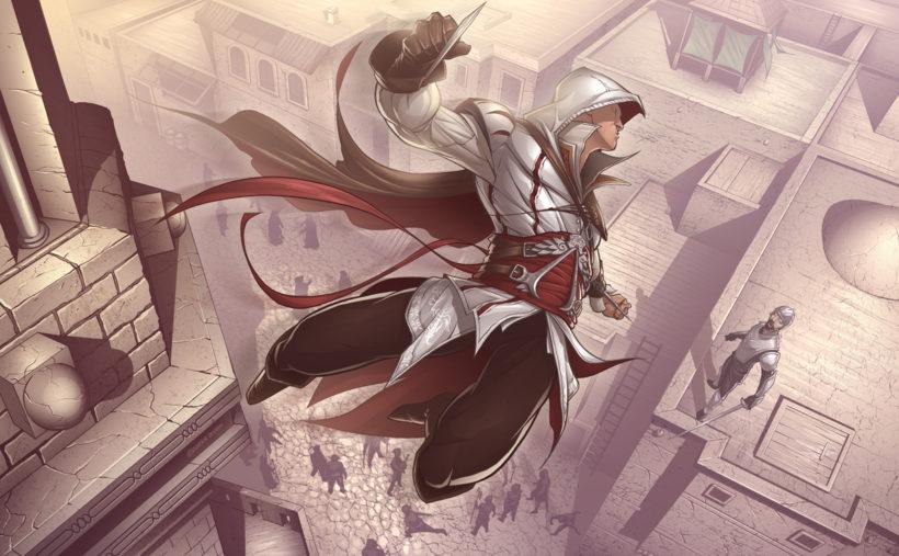 assassin's creed anime görüntüsü
