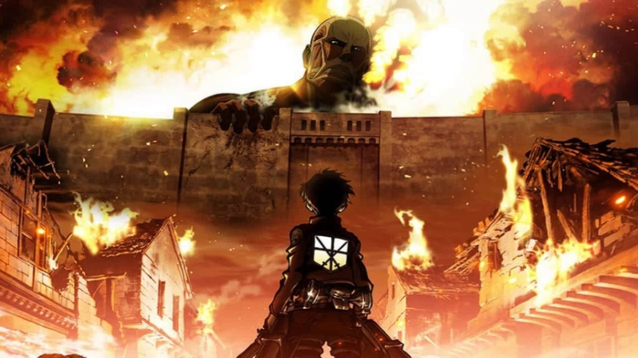 Shingeki No Kyojin Attack On Titan Lavuklara Saldiri